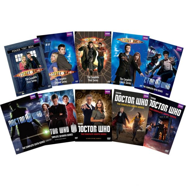dvd sales uk doctor who complete series 1-10 box set