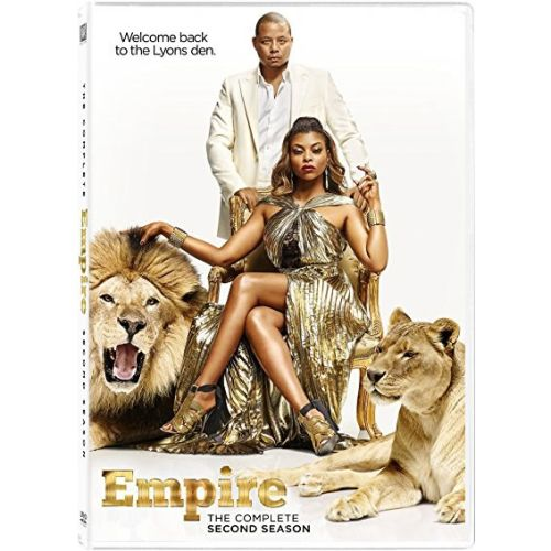 DVD sales uk empire season 2