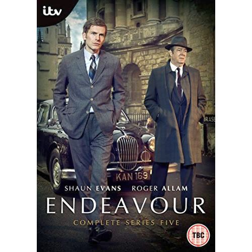 DVD sales uk endeavour season 5