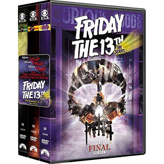 dvd sales uk friday the 13th complete series 1-3 box set