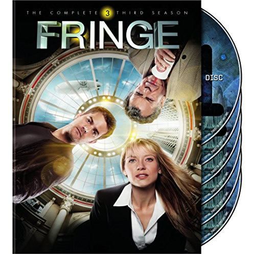 DVD sales uk fringe season 3