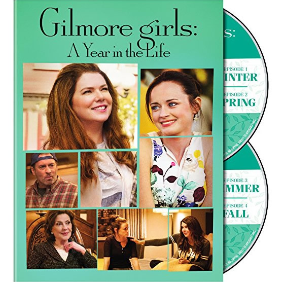 DVD sales uk gilmore girls: a year in the life season 1