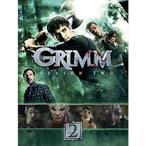 DVD sales uk grimm season 2