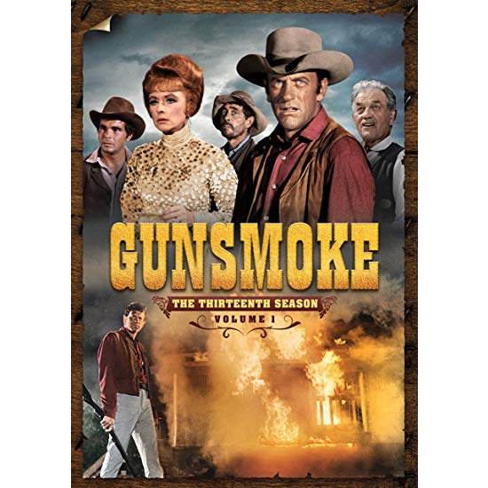 DVD sales uk gunsmoke season 1 vol. 1
