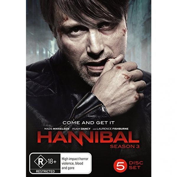DVD sales uk hannibal season 3
