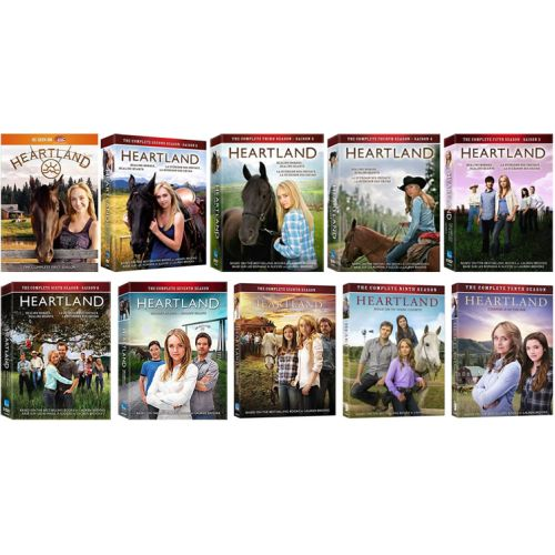 dvd sales uk heartland complete series 1-10 box set