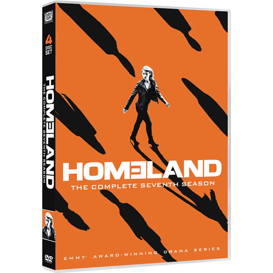DVD sales uk homeland season 7