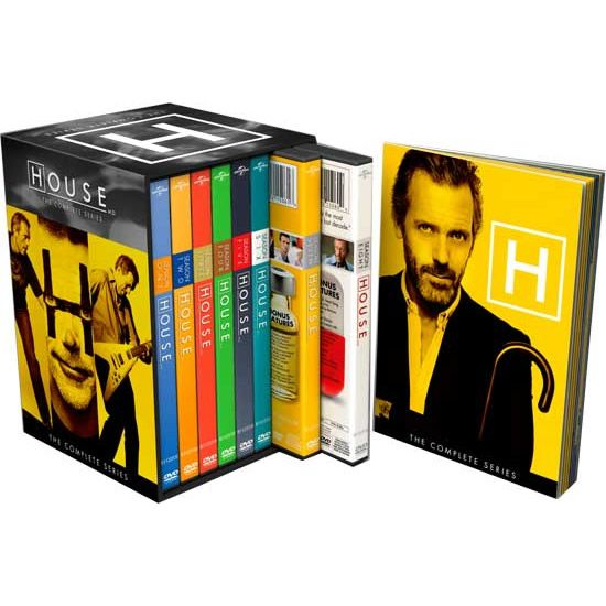 buy dvd box set uk house m.d.