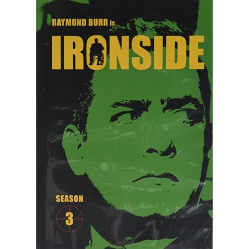 DVD sales uk ironside season 3