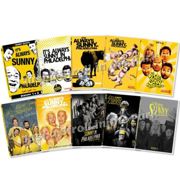 dvd sales uk it's always sunny in philadelphia complete series 1-11 box set