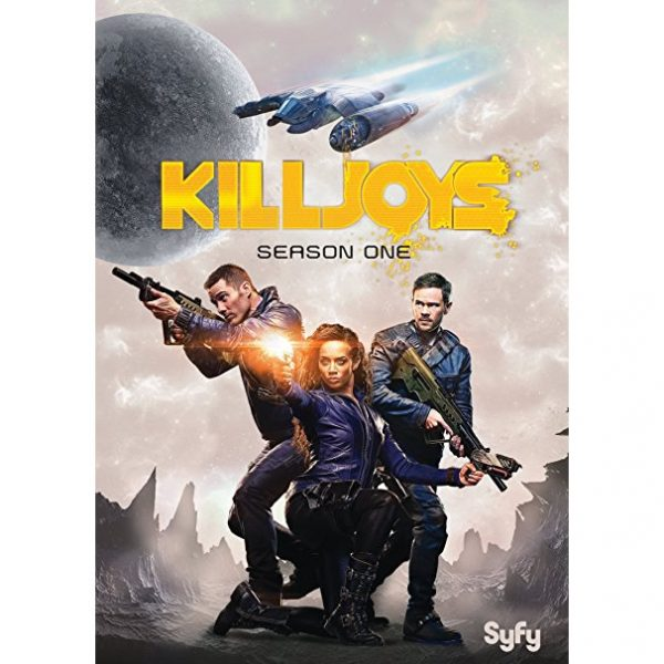DVD sales uk killjoys season 1