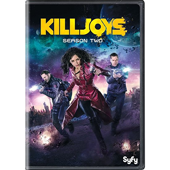 DVD sales uk killjoys season 2