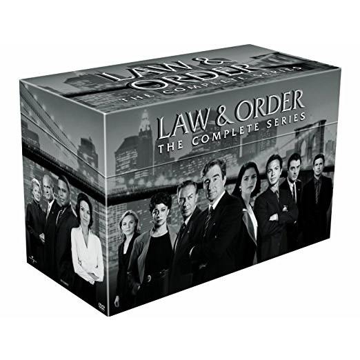 buy dvd box set uk law and order