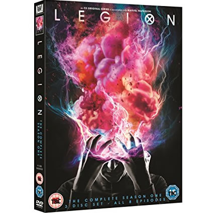 DVD sales uk legion season 1