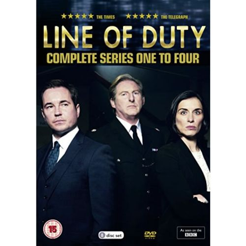 dvd sales uk line of duty complete series 1-4 box set