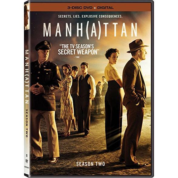DVD sales uk manhattan season 2