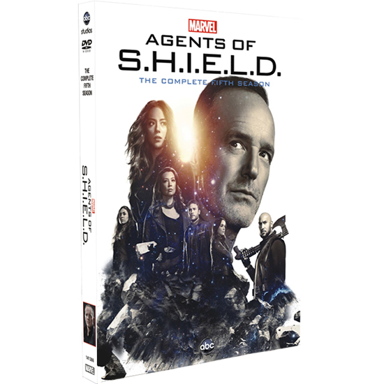 DVD sales uk marvel's agents of shield season 5