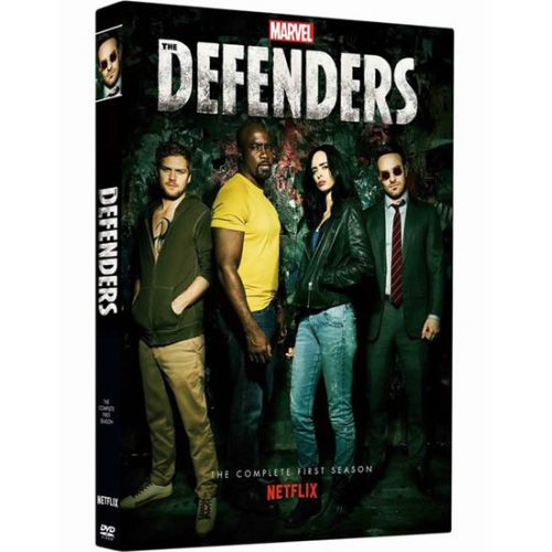 DVD sales uk marvel's the defenders season 1