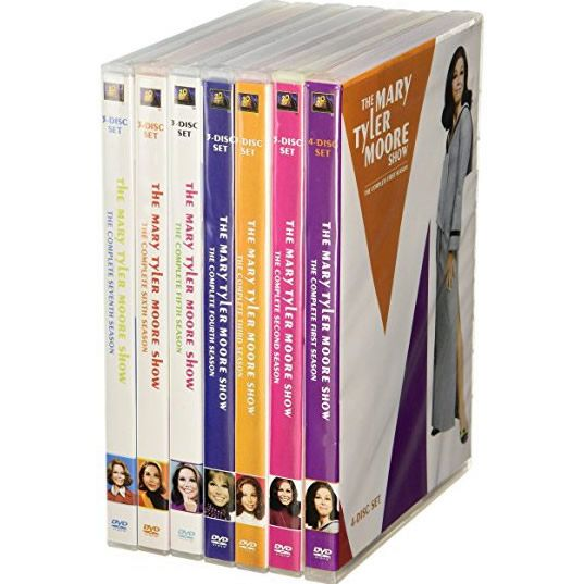 dvd sales uk mary tyler moore complete series 1-7 box set