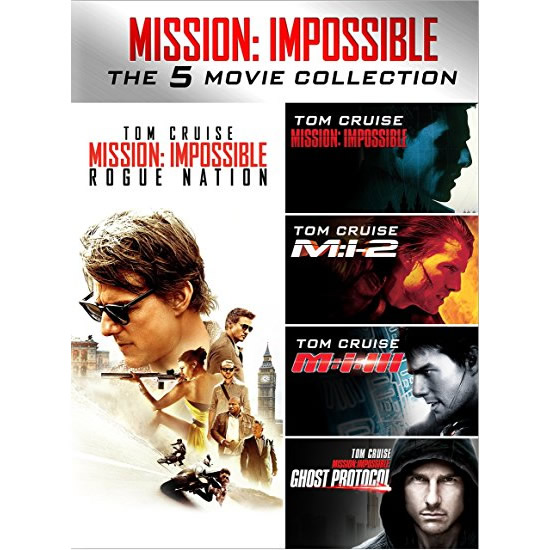 dvd sales uk mission impossible movie collection on dvd