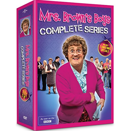 buy dvd box set uk mrs. brown's boys
