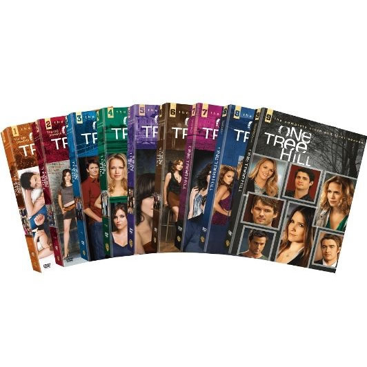 dvd sales uk one tree hill complete series 1-9 box set