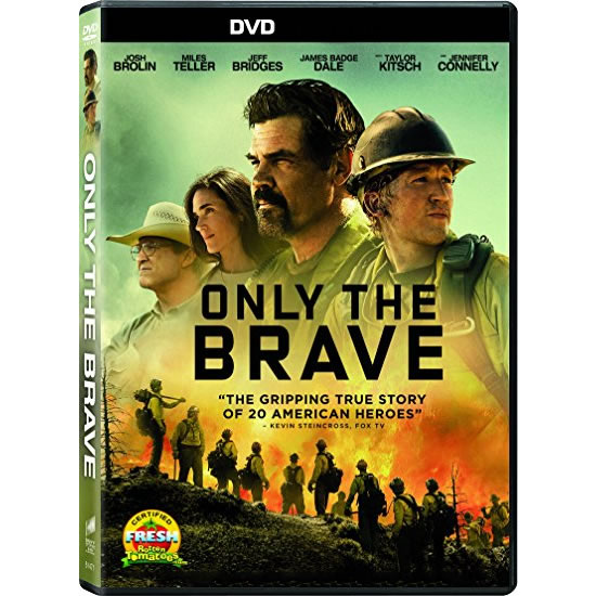 dvd sales uk only the brave on dvd