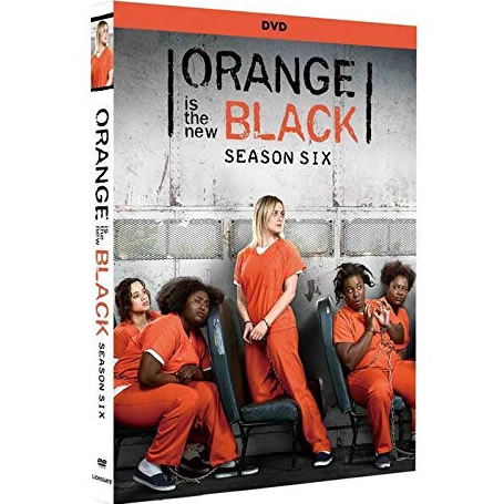 DVD sales uk orange is the new black season 6