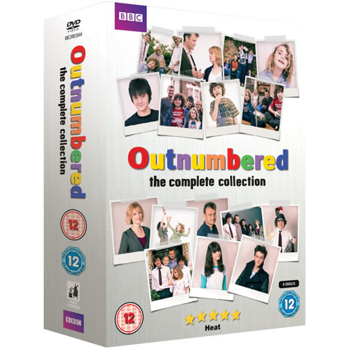 dvd sales uk outnumbered complete series 1-5 box set