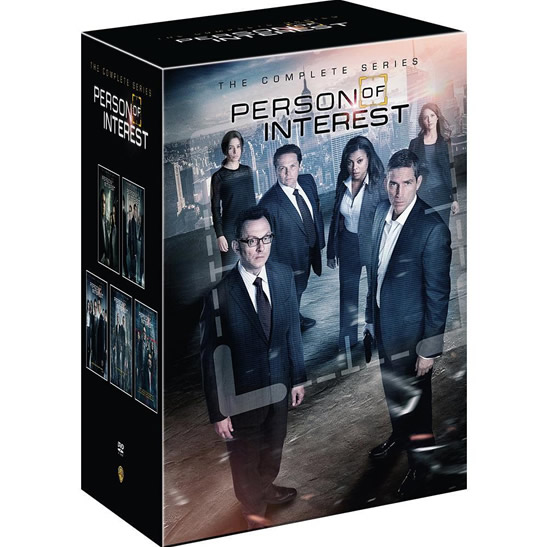 dvd sales uk person of interest complete series 1-5 box set