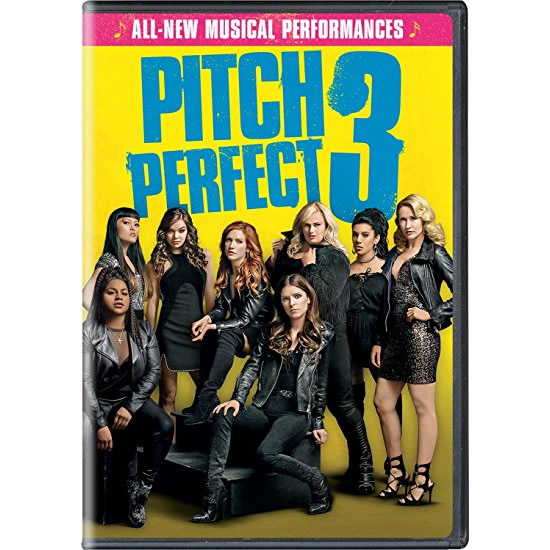 dvd sales uk pitch perfect 3 on dvd