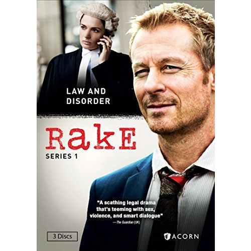 DVD sales uk rake season 1