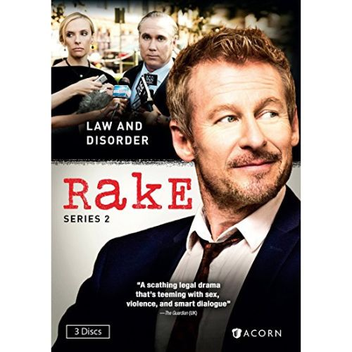DVD sales uk rake season 2