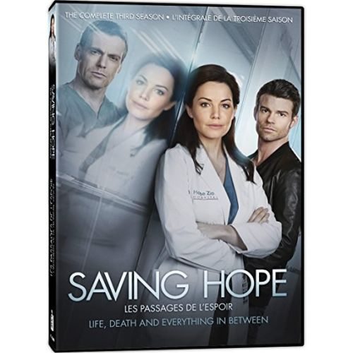 DVD sales uk saving hope season 3