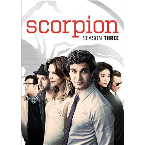 DVD sales uk scorpion season 3