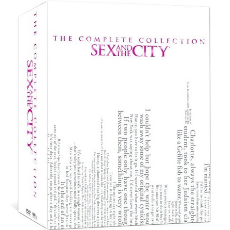 dvd sales uk sex and the city complete series 1-6 box set