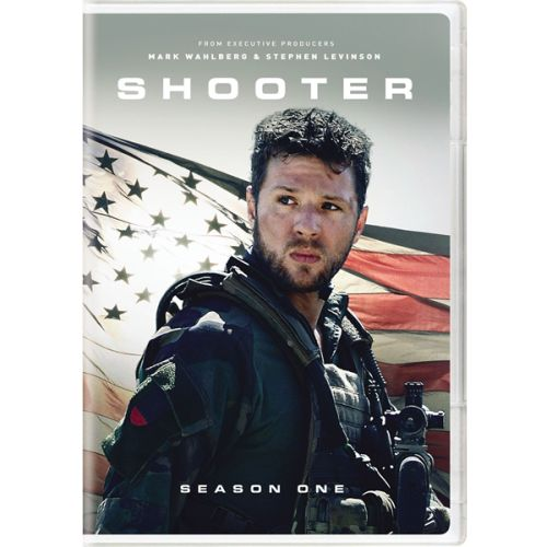 DVD sales uk shooter season 1