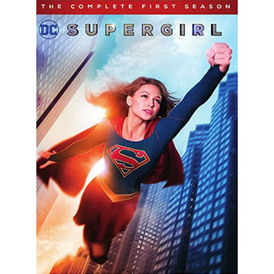 DVD sales uk supergirl season 1