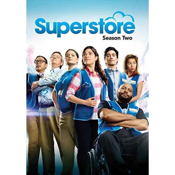 DVD sales uk superstore season 2