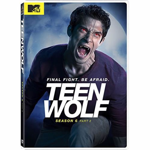 DVD sales uk teen wolf season 6 part 2