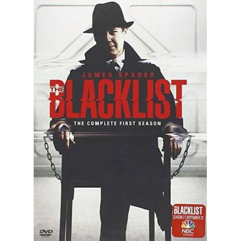 DVD sales uk blacklist  season 1