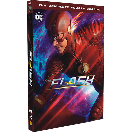 DVD sales uk the flash season 4