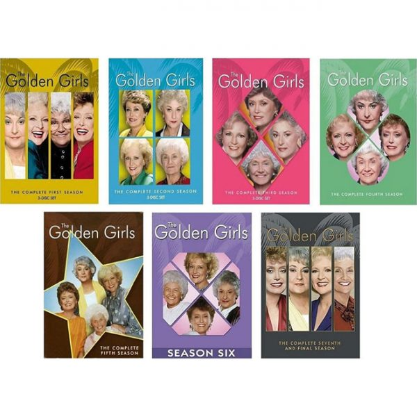 dvd sales uk the golden girls complete series 1-7 box set