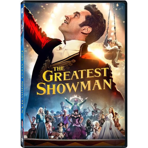 dvd sales uk the greatest showman on dvd