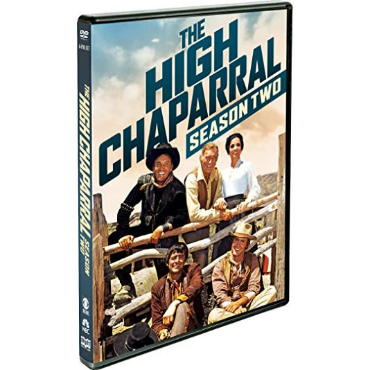 DVD sales uk the high chaparral season 2
