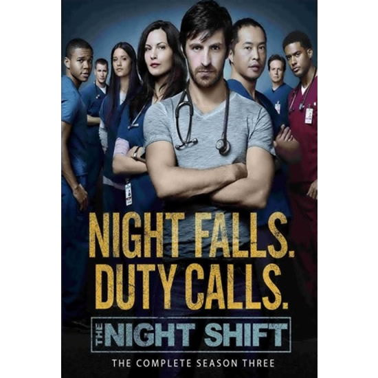 DVD sales uk the night shift season 3