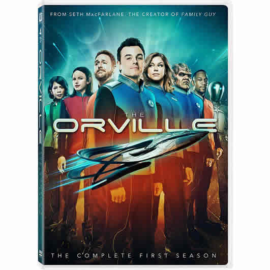 DVD sales uk the orville season 1