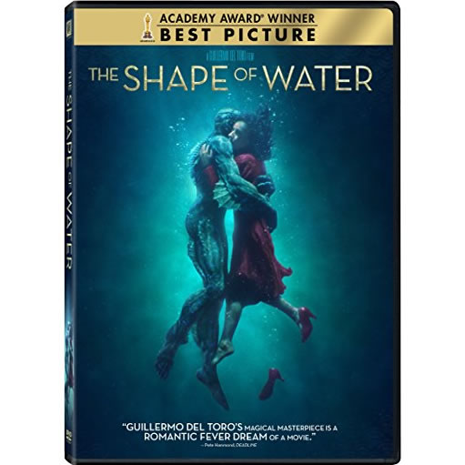 dvd sales uk the shape of water on dvd