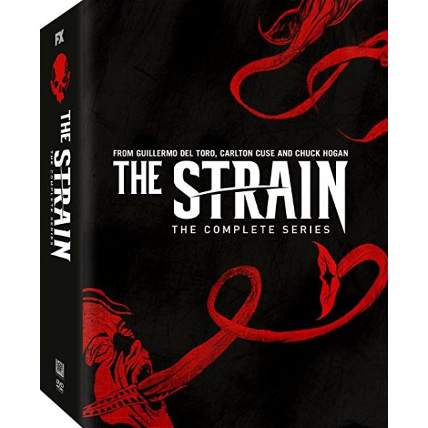 dvd sales uk the strain complete series 1-4 box set