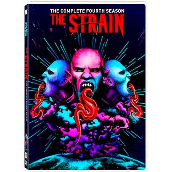 DVD sales uk the strain season 4